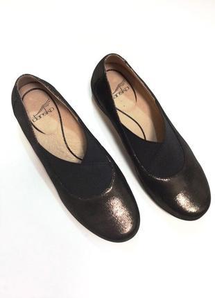 Стильные кожаные туфли с напыление ( оригинал из сша 🇺🇸)
