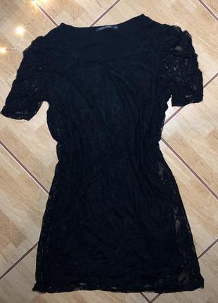 Ажурное платье jennyfer