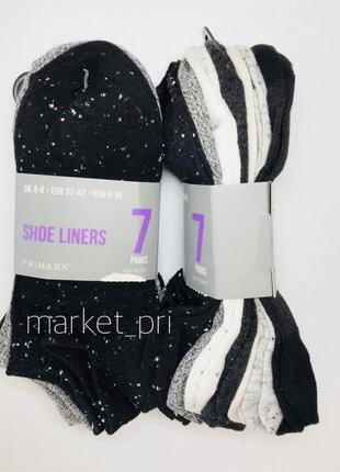 Носки женские примарк primark 7 штук primark