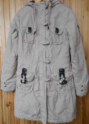 Тёплая качественная куртка парка colours of the world англия