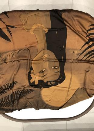 Шелковый платок большой custo barselona