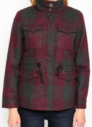 Шерстяное пальто/куртка/парка levi's/levis