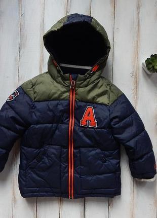 George  стильная зимняя куртка на мальчика  2-3 года