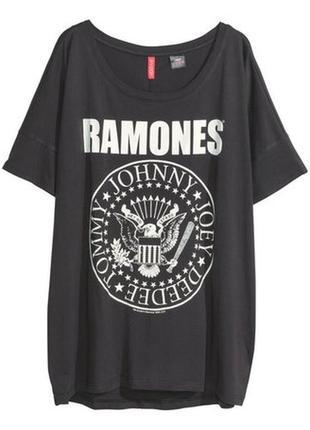 Футболка ramones h&m