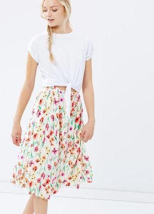 Миди юбка dorothy perkins в цветочный принт