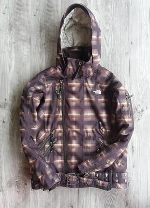 Женская зимняя лыжная куртка the north face hyvent