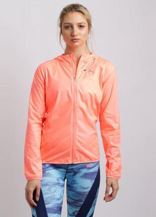 Ветровка puma core-run hooded jaket