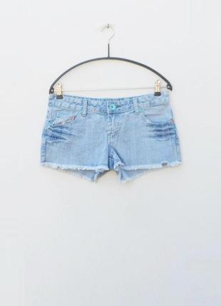 Джинсовые летние пляжные шорты
