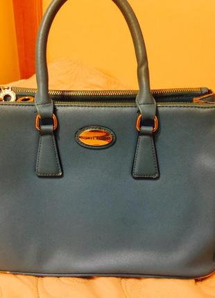 Деловая практичная сумочка от danielle patrichi за 89грн,торг приемлем