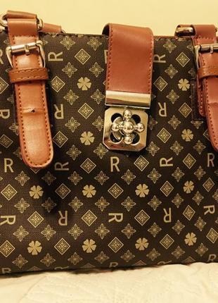 Деловая сумочка от danielle patrichi всего 79 грн