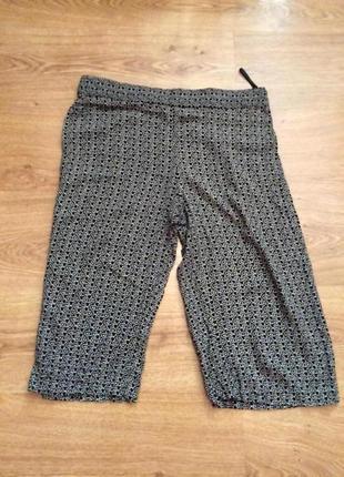 Стильные кюлоти бриджи длинные шорты/ xl