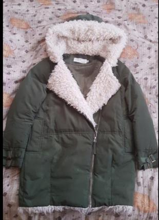 Парка / куртка хакки женская