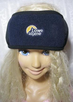 Lowe alpine спортивная повязка на голову   унисекс
