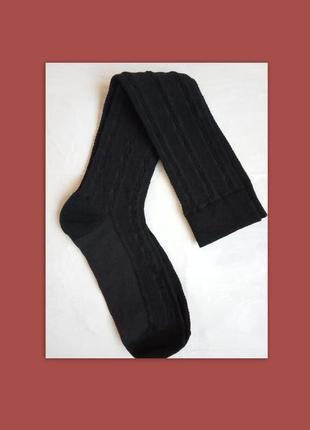 Итальянские гольфы /высокие носки с узором, универсальный размер, качество супер