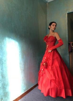 Выпускное платье-комплект