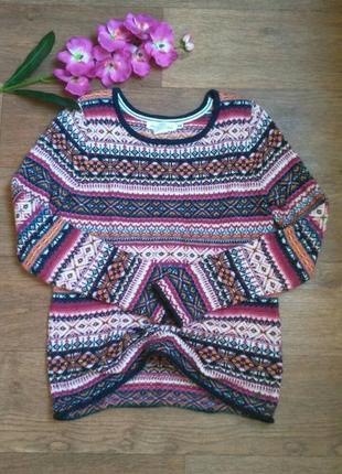 Теплый свитер h&m.