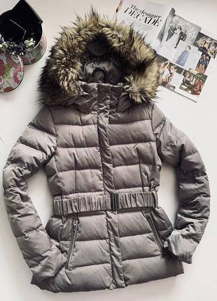 Брендовая пуховая курточка