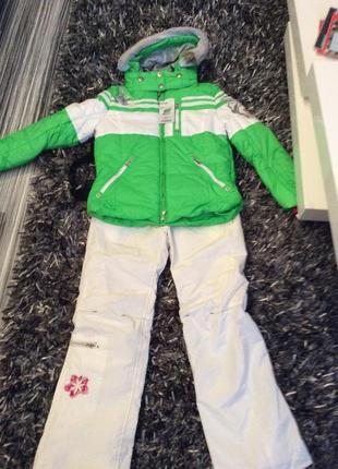 Лыжный костюм bogner на девочку 8-10 лет
