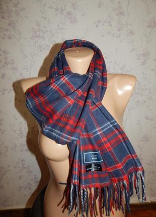 John lewis шарф мужской акриловый стильный модный