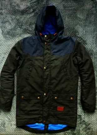 Демисезонная парка, куртка весна-осень, ф. staff, м, сост. 5+