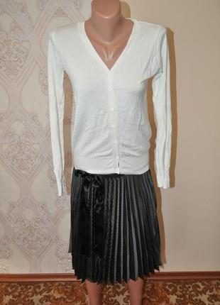 Крутая плиссировання юбка