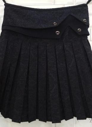 Красивая юбка,набивная ткань