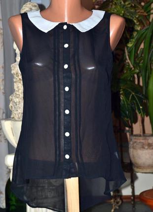 Милая черно-белая блузка от atmosphere.