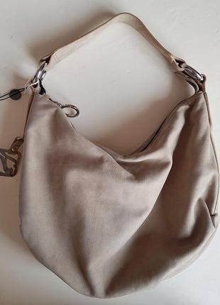 Итальянская кожаная сумка, 100% телячья кожа