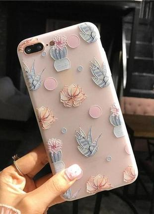 Красивый чехол на айфон iphone 7+ plus