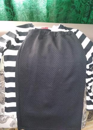 Костюм юбка и кофточка женский s m
