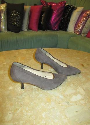 Туфли giorgiom натуральная кожа замша