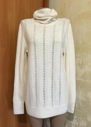 Натуральный мягкий свитер с горлышком!!