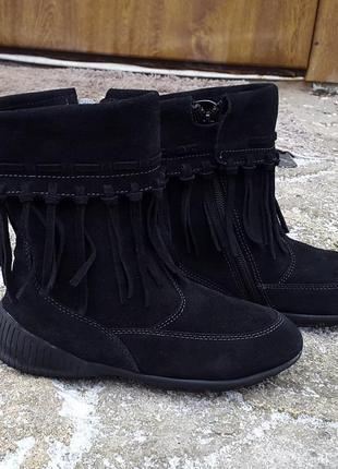Демисезонные ботинки сапоги geox 32 р. оригинал