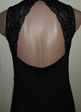 Крутое платье приталенное с кружевом