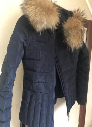 Синяя курточка bogner
