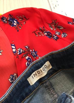Трендовая джинсовая юбка миди на пуговицах m&s4