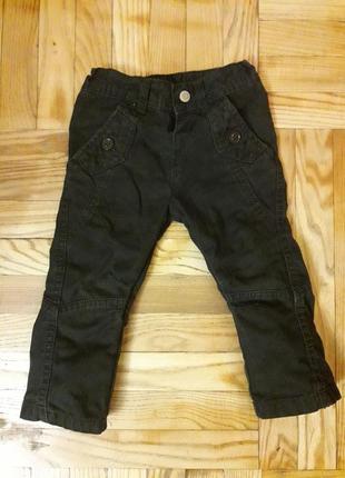 Стильные брюки джинсы mark and spencer на 12-18 месяцев