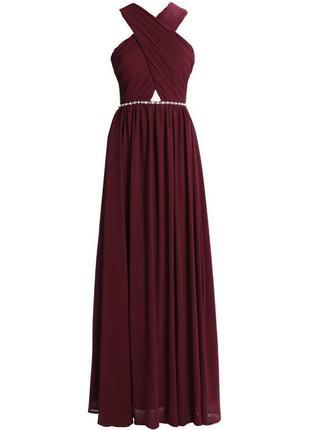Шикарное вечернее платье на выпускной / длинное платье