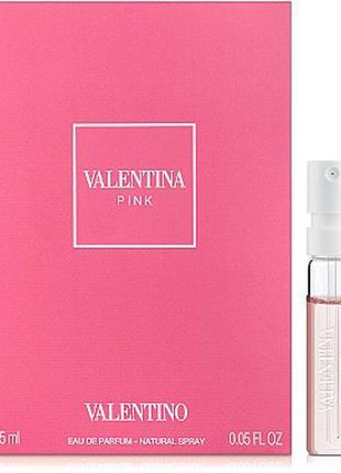Valentino valentina pink, edp, пробник, 1,5 ml, оригинал.