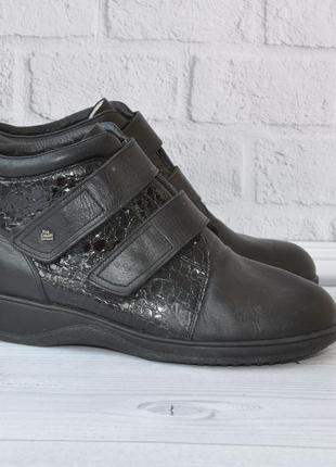 Зимние ботинки finn comfort 40р 26см на широкую ногу