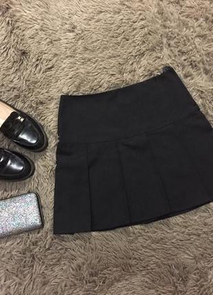 Чёрная юбка/ школьная юбка / школьная форма
