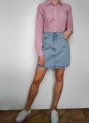 Рубашка в полоску 100% cotton, tommy hilfiger