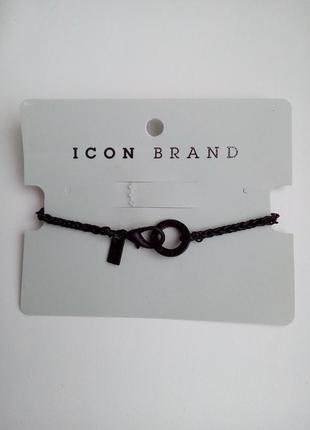 Мужской браслет icon brand