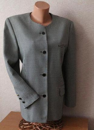 Классический, стильный жакет, пиджак для деловой леди- германия l-xl, наш 48-50