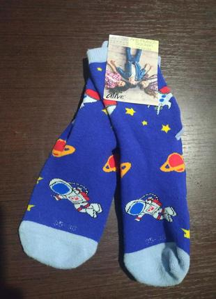 Махровые носки с силиконовой подошвой alive 35-38