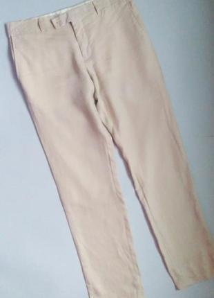 Лёгкие брюки лен