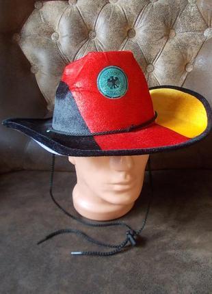 Шляпа-ковбойка маскарадная коллекционная германия