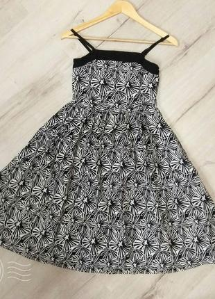 Летнее платье миди, платье на подростка