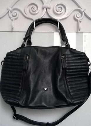 Идеальная черная сумка от tom tailor
