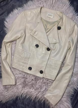Куртка натуральная  кожа reiss косуха пиджак кожаный